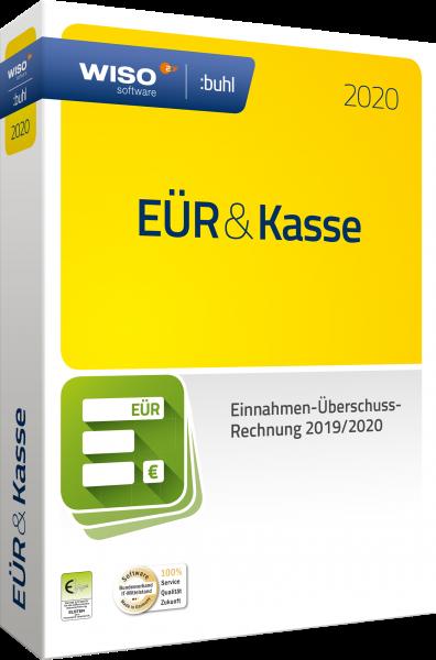 WISO EÜR + Kasse 2020 - Geschäftsjahr 2019/2020 - Windows
