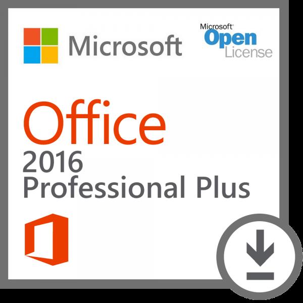 Microsoft Office 2016 Professional Plus Volumenlizenz (MAK)