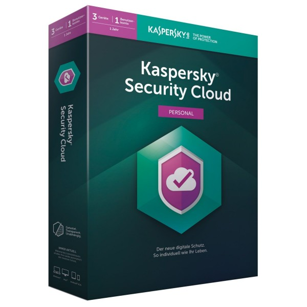 Kaspersky Security Cloud 2021 | Multi Device | 1 Jahr
