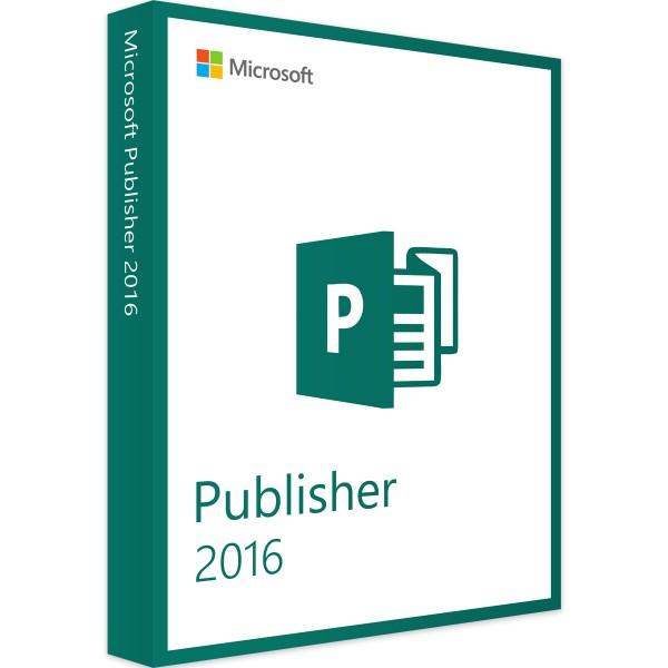 Microsoft Publisher 2016 - Windows