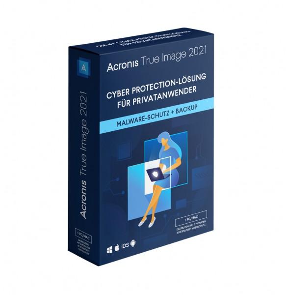 Acronis True Image 2021 Standard | Dauerlizenz