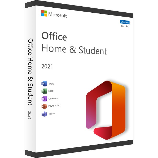 Microsoft Office 2021 Home and Student | Accountgebunden