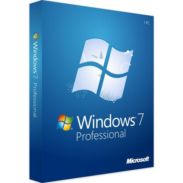Windows 7 Professional - 32/64 Bit - Vollversion - Download