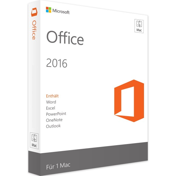 Microsoft Office 2016 Standard MAC