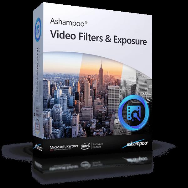 Ashampoo Video Filters and Exposure - Windows