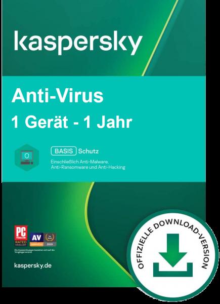 Kaspersky Anti-Virus 2021 | Windows