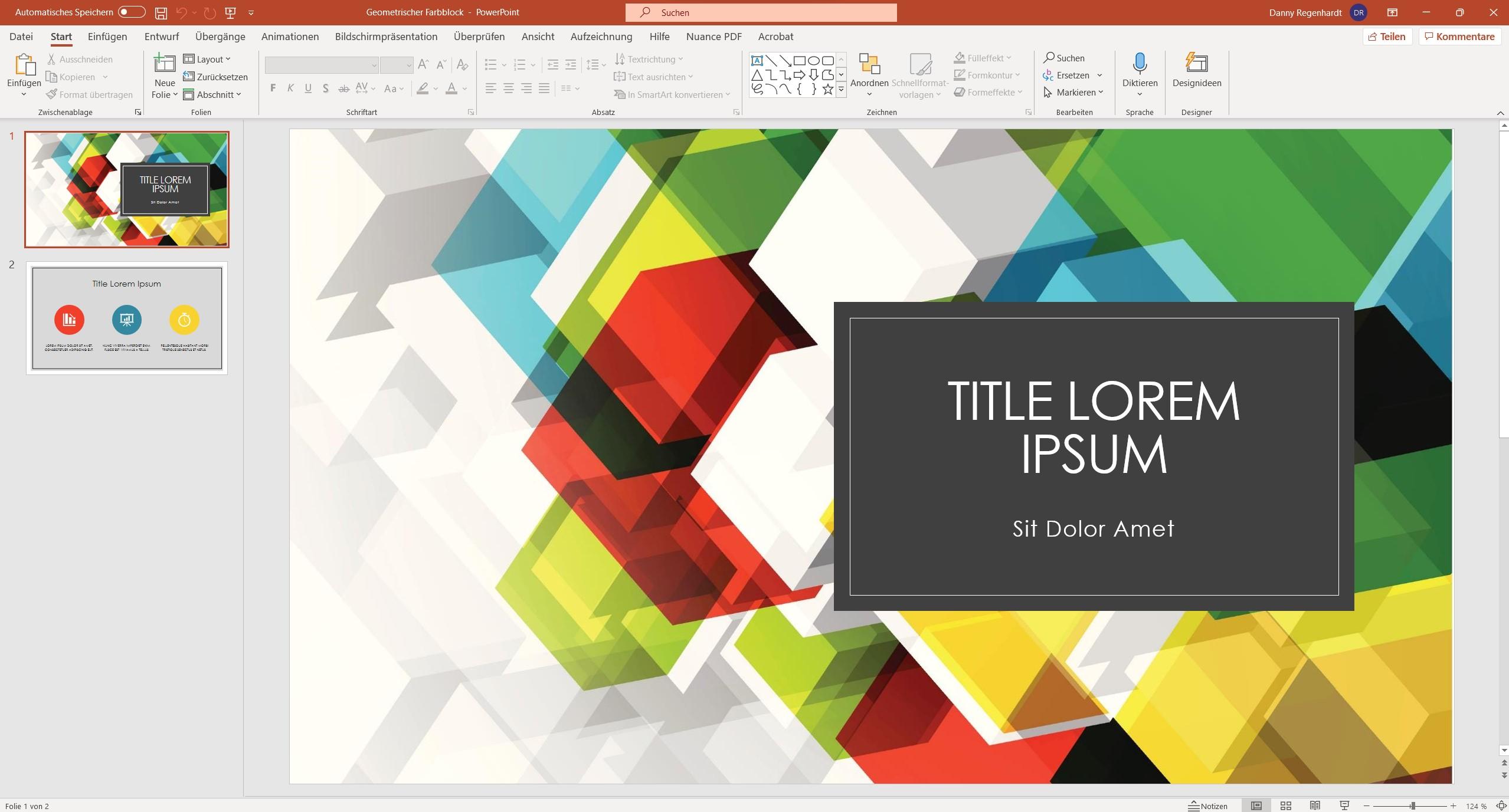 Microsoft PowerPoint 2021