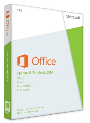 Microsoft Office 2013 Standard (Home & Student) - Windows - Vollversion
