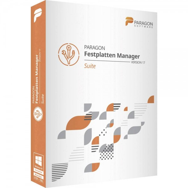 Paragon Festplatten Manager 17 Suite | Download