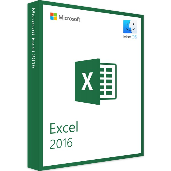 Microsoft Excel 2016 MAC