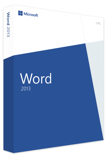 Microsoft Word 2013 - Vollversion 32/64 Bit - Download