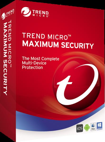 Trend Micro Maximum Security 2021 | Multi Device