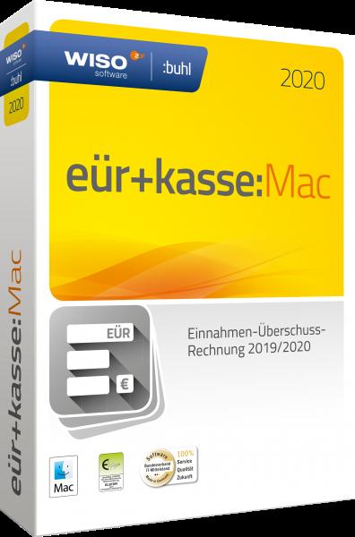 WISO EÜR + Kasse:Mac 2020 | Geschäftsjahr 2019/2020