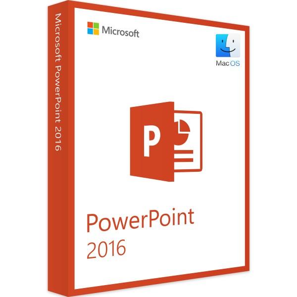Microsoft PowerPoint 2016 MAC