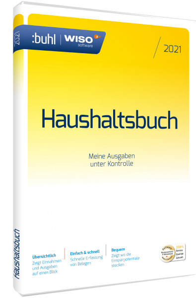 WISO Haushaltsbuch 2021 | Windows | Download