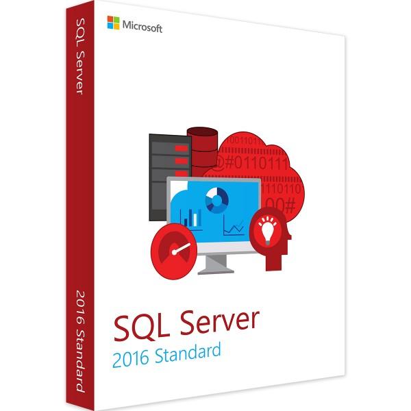 Microsoft SQL Server 2016 Standard 2 Core