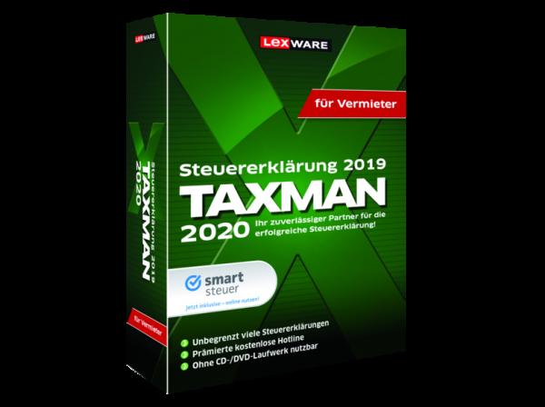 Lexware TAXMAN 2020 für Vermieter | Download