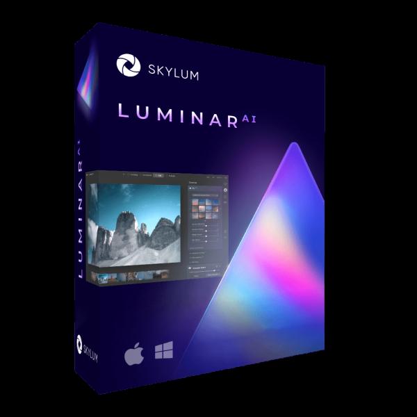 Skylum Luminar AI | Windows / Mac | 1 Benutzer, 2 Geräte