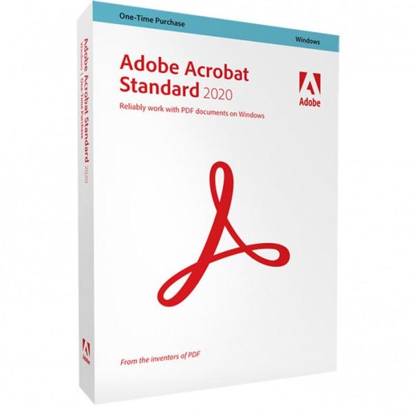 Adobe Acrobat Standard 2020 - Windows
