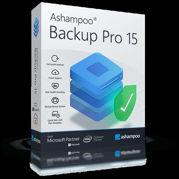 Ashampoo Backup Pro 15