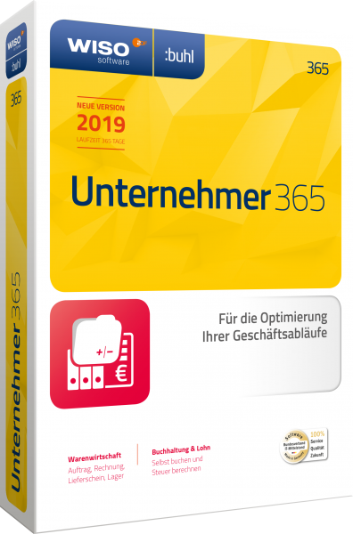 WISO Unternehmer 365 - Download - Windows