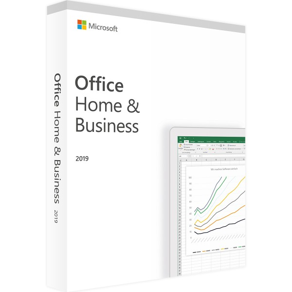 Microsoft Office 2019 Home and Business | Windows | Retail