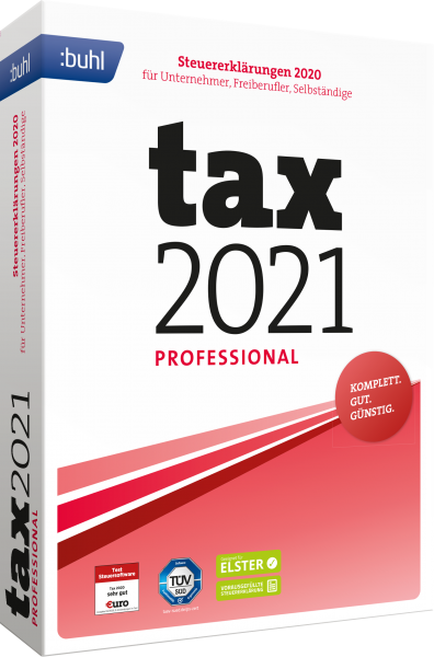 WISO Tax 2021 Professional Steuerjahr 2020 | Windows