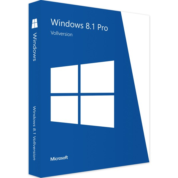 Windows 8.1 Professional - Vollversion - Download