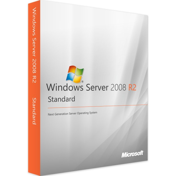 Windows Server 2008 R2 Standard - Vollversion - Download