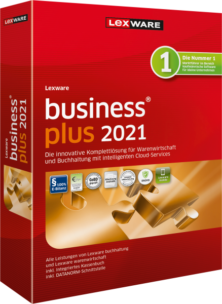 Lexware Business Plus 2021 - 365 Tage