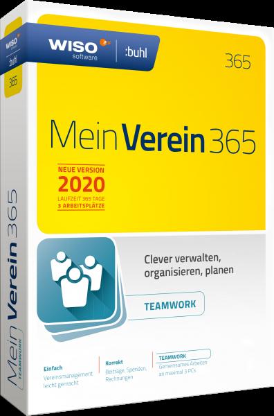 WISO Mein Verein 365 Teamwork Edition - 3 PC - Download - Windows