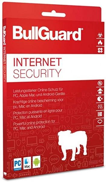 BullGuard Internet Security 2021 - Windows - Mac
