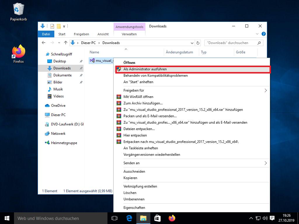 Visual-Studio-17-Schritt2