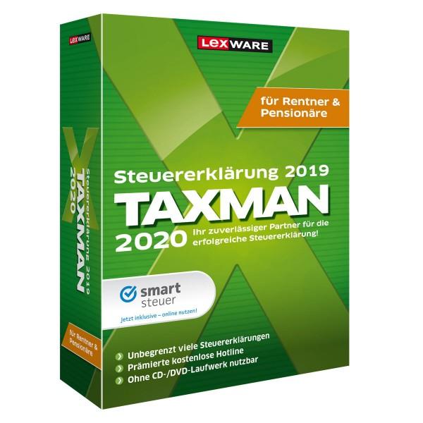 Lexware TAXMAN 2020 für Rentner und Pensionäre | Windows