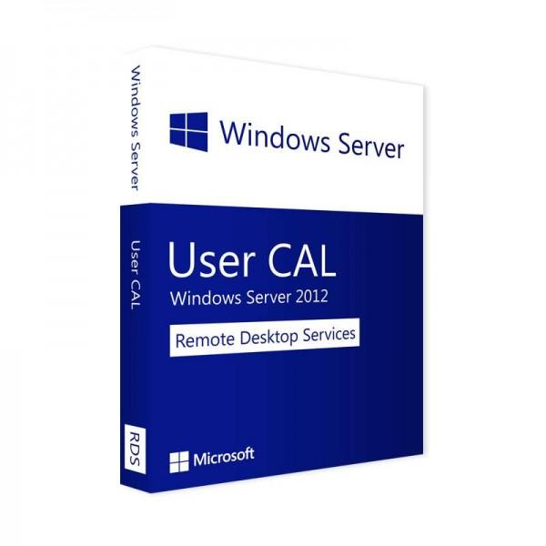 Microsoft Remote Desktop Services 2012 User CAL