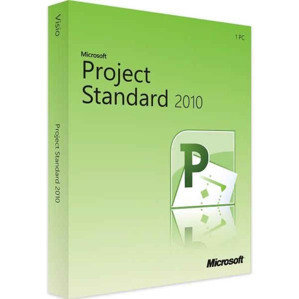 Microsoft Project 2010 Standard Windows