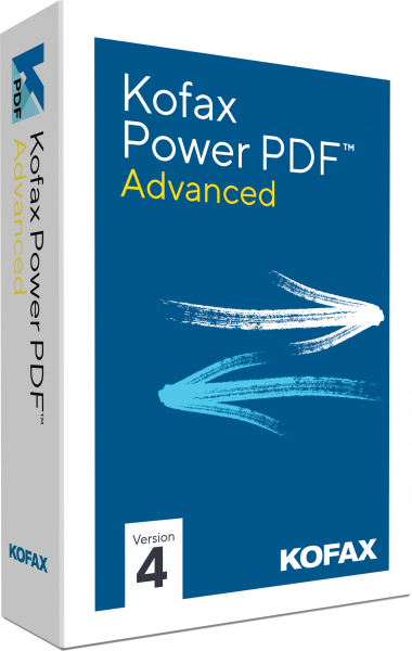 Kofax Power PDF Advanced 4.0