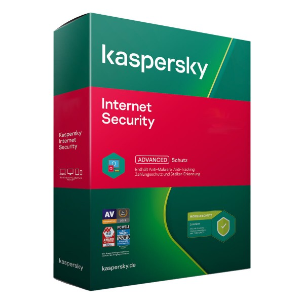 Kaspersky Internet Security 2021 - Download - Win/Mac