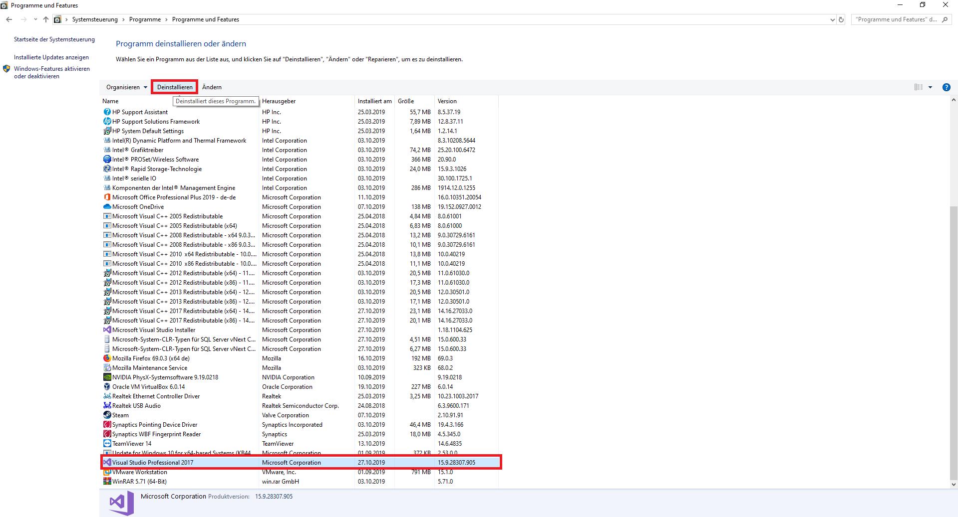 Visual-Studio-17-Schritt1