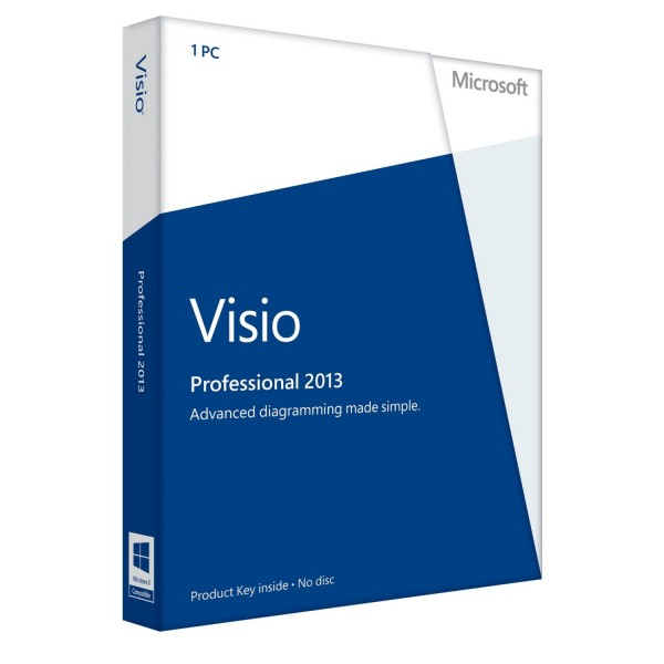 Microsoft Visio 2013 Professional - Windows