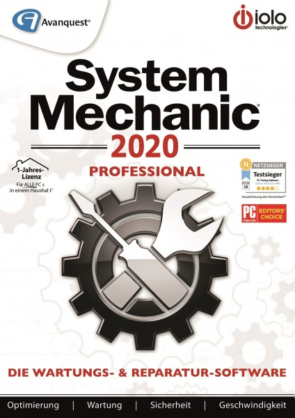 iolo System Mechanic 2020 Professional - Download