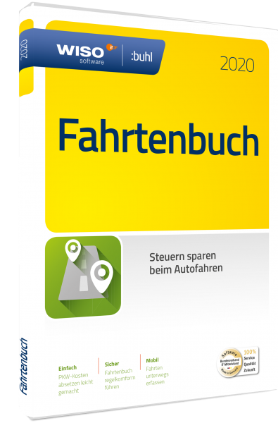 WISO Fahrtenbuch 2020 - Windows - Download