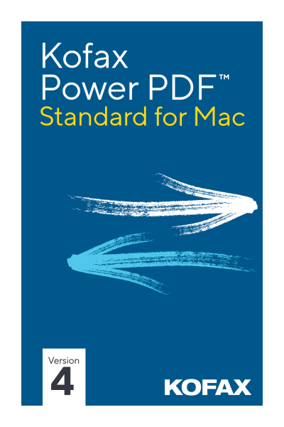 Kofax Power PDF Standard 4.0 Mac