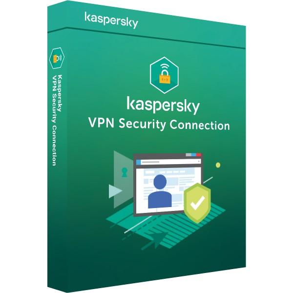 Kaspersky Secure Connection VPN - Multi Device - 5 Geräte 1 Jahr