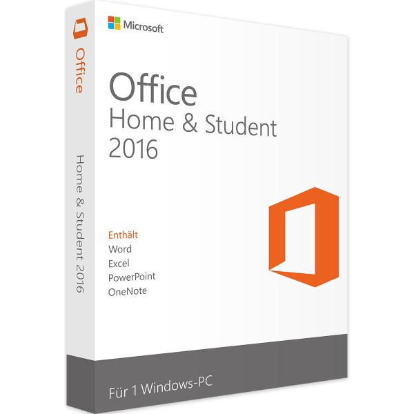 Microsoft Office 2016 Home and Student | Windows
