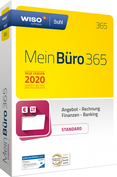WISO Mein Büro 365 Standard 2020 - Windows - Download-