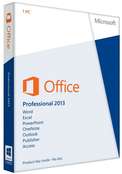 Microsoft Office 2013 Professional Windows