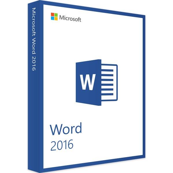 Microsoft Word 2016 - Windows - Vollversion