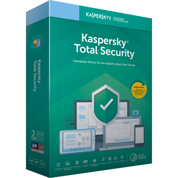 Kaspersky Total Security 2020 - Multi Device