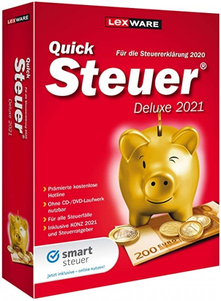 Lexware Quicksteuer Deluxe 2021   Windows